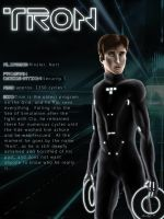 TRON CHARACTER SHEET: Tron by Sandeyes