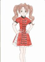 Orange Qi Lolita by animequeen20012003