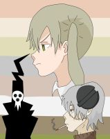 Soul Eater coloring training by Lady-Agony