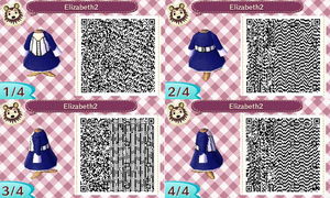 Animal Crossing QR Code Elizabeth 2 by TeaganLouise