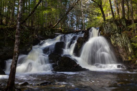 Patty's Falls - Drew Plantation, Maine 04 by Riot207Photography