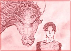 Murtagh and Thorn by TheFlyingHeart