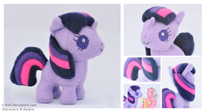 Baby Twilight Sparkle Plushie by C-Puff