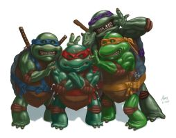 Say Cheese And Pepperoni! ~ TMNT by jadamfox