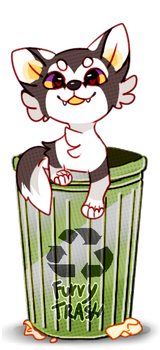 Furrytrash by Pand-ASS