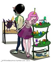 Bubbline go pet shopping by jackiemakescomics