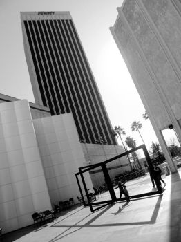 Space jam at LACMA by Quinque