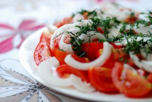 Tomatos with Onions by SmileyG