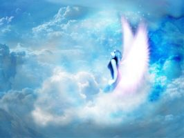 Angel in Heaven_small by Tom-in-Silence