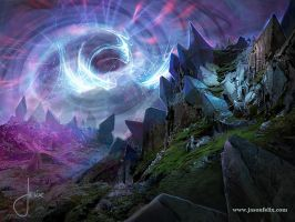 Crystal Warp -Magic The Gathering by jason-felix
