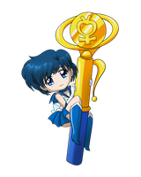 Sailor Mercury Wand by SMeadows