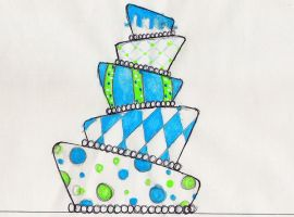 1 Drawing For Wedding Cake by ILUCKY13