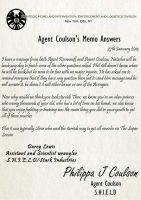 Agent Coulson Memos Answers 16 by TheQueenofLight