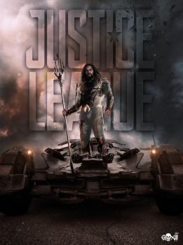 Justice League  Aquaman Poster by GOXIII