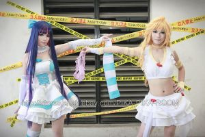 Angel Panty and Stocking2 by PIKAPIKAROOM