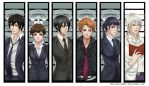 Psycho Pass Bookmarks by EmeraldLin8891