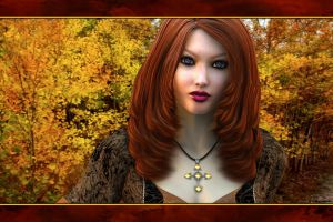 Autumn's Daughter by akulla3D