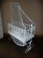 white cradle by two-ladies-stocks