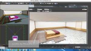 WIP Japanese swimming room by MichelSay