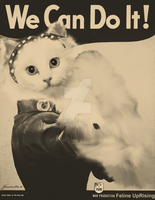 Feline UpRising - We Can Do It! by Debitos