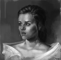 Portrait study 10 by FelFortune