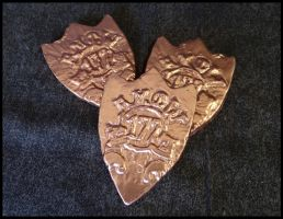 Commander Vimes' Badge: Rough Castings by xofox