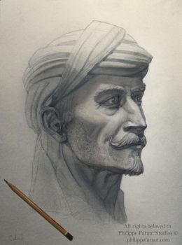 Pencil Portraite by Azot2017
