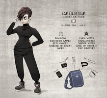 #MeetTheArtistCaterina by SuperCaterina