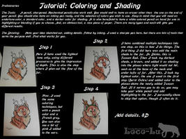 Tutorial: Coloring and Shading by Loco-Lu