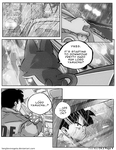 Dbz: Bulma and Vegeta - Firstkiss: Chapter 2, Pg4 by longlovevegeta
