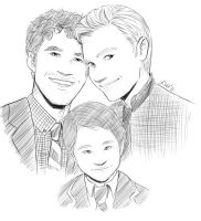 Klaine family by Kiwa007