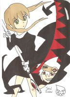 Maka and Soul by SP--kitkat