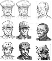 Conceptual Military rough sketches by ZEroePHYRt