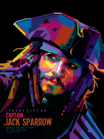 JACK SPARROW - WPAP BY TONI by toniagustian