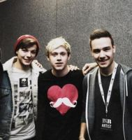 Louis, niall, and liam by DirectionForLyfe