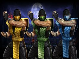 Classic MK9 Costumes by lightwave12