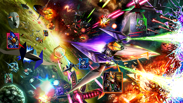 The Starfox Universe: In Flux by LightningArts