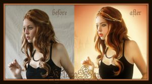 Love Takes Time...before and after by KlaraKay