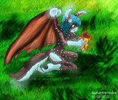 Easter egg Lizae by Gamal-the-rookie