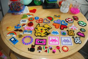 Hama beads by CoralineRainbow