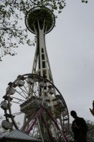 Space Needle by kasieisdell