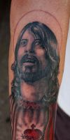 Dave Groll, Foo Fighters sleeve by aenema777