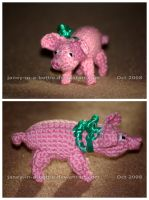 The Crocheted: Pig by janey-in-a-bottle