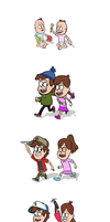 Dipper and Mabel - Life by Explodering