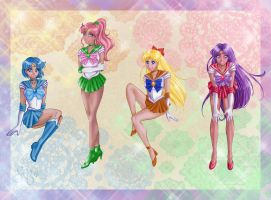 Sailor Senshi. by SChappell