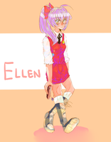 Ellen (whose arm is long as frick) by kyojean