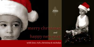 Xmas Card by teach