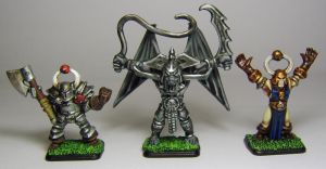 HERO QUEST Villains by FraterSINISTER