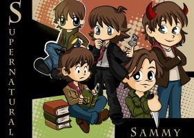 Supernatural Sam by TheSpyWhoLuvedMe