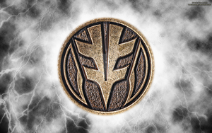 New MMPR HD Power Coin Wallpaper (White) by RussJericho23